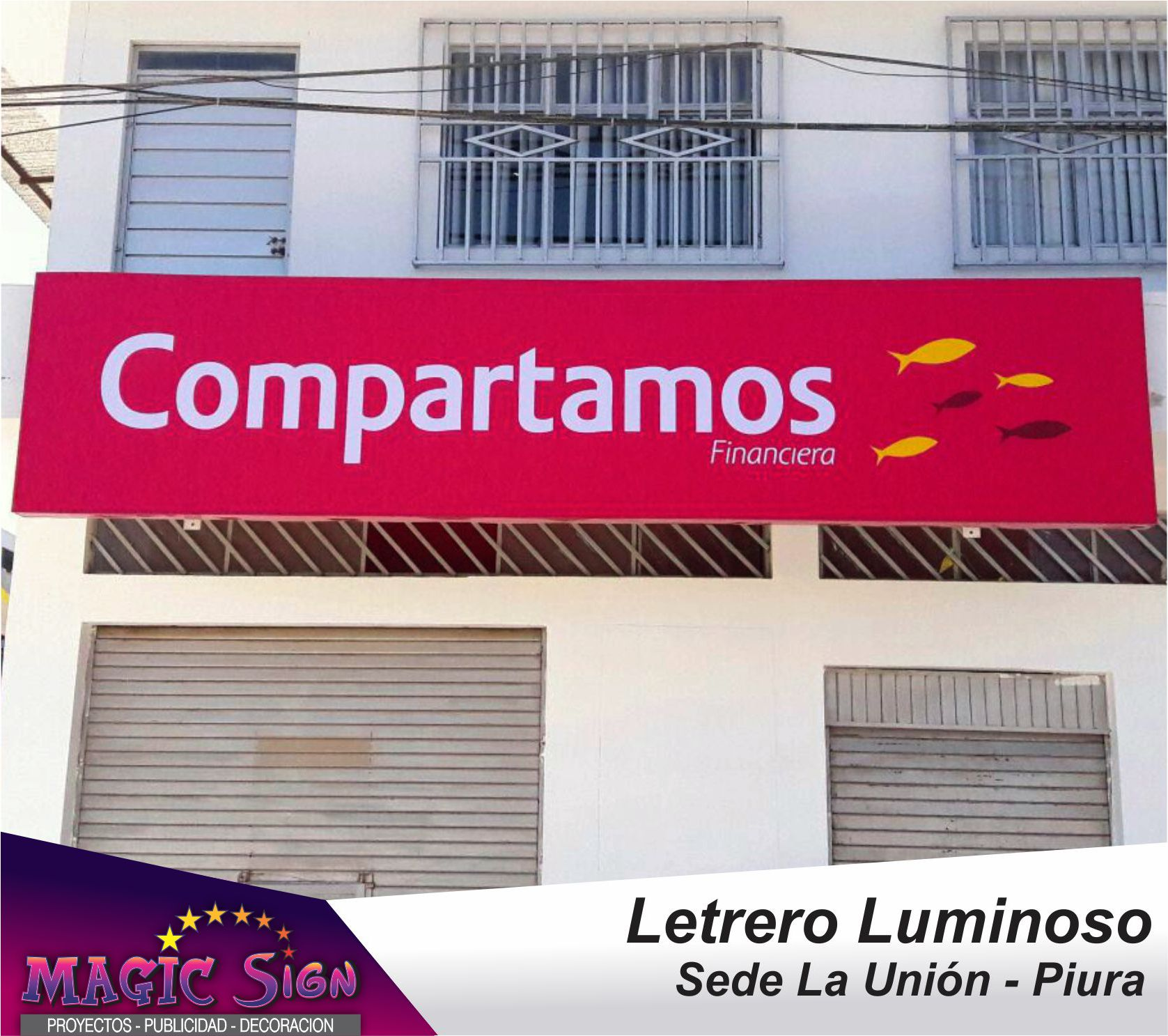 Letrero Luminoso