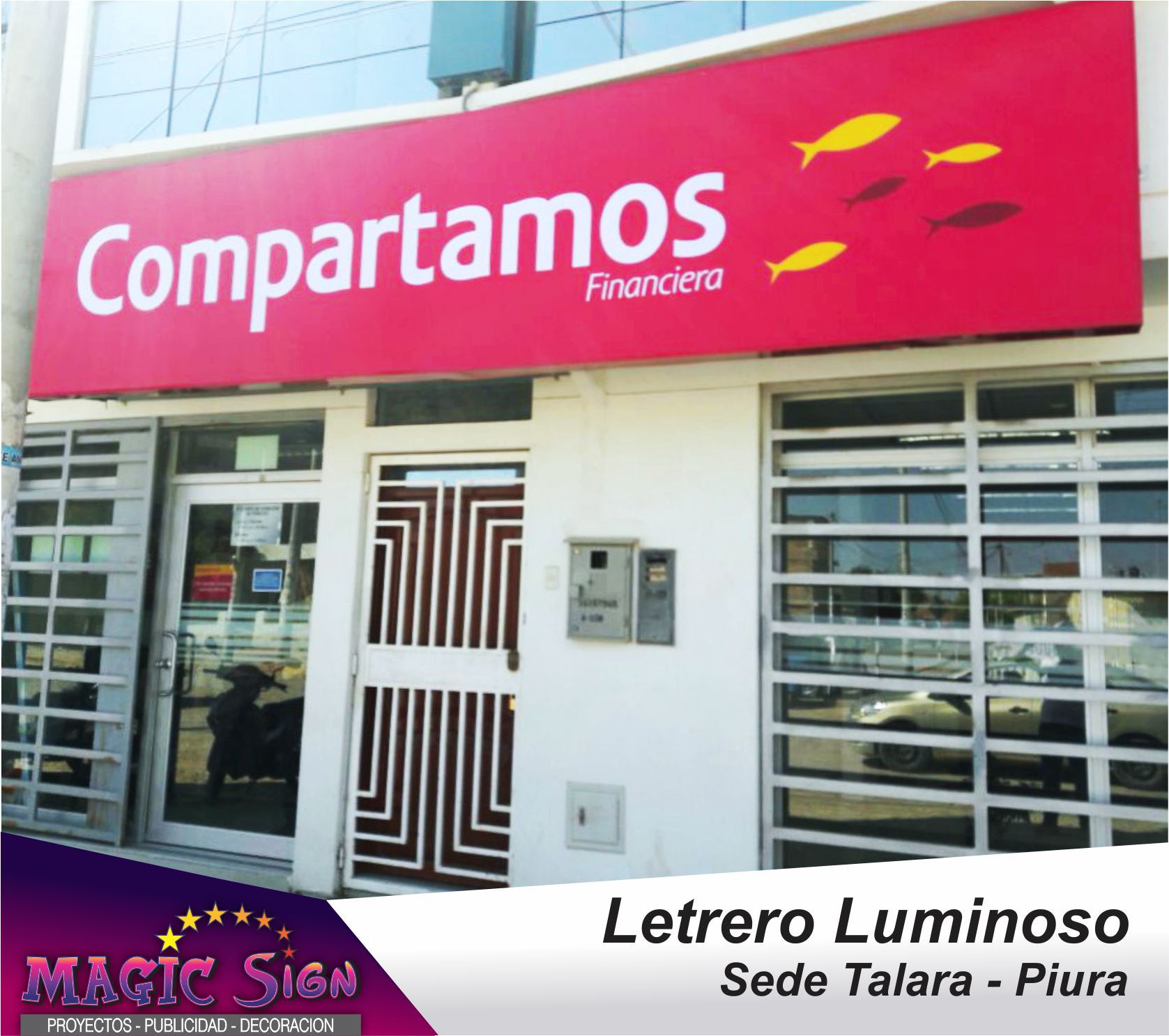 Letrero Luminoso Peru