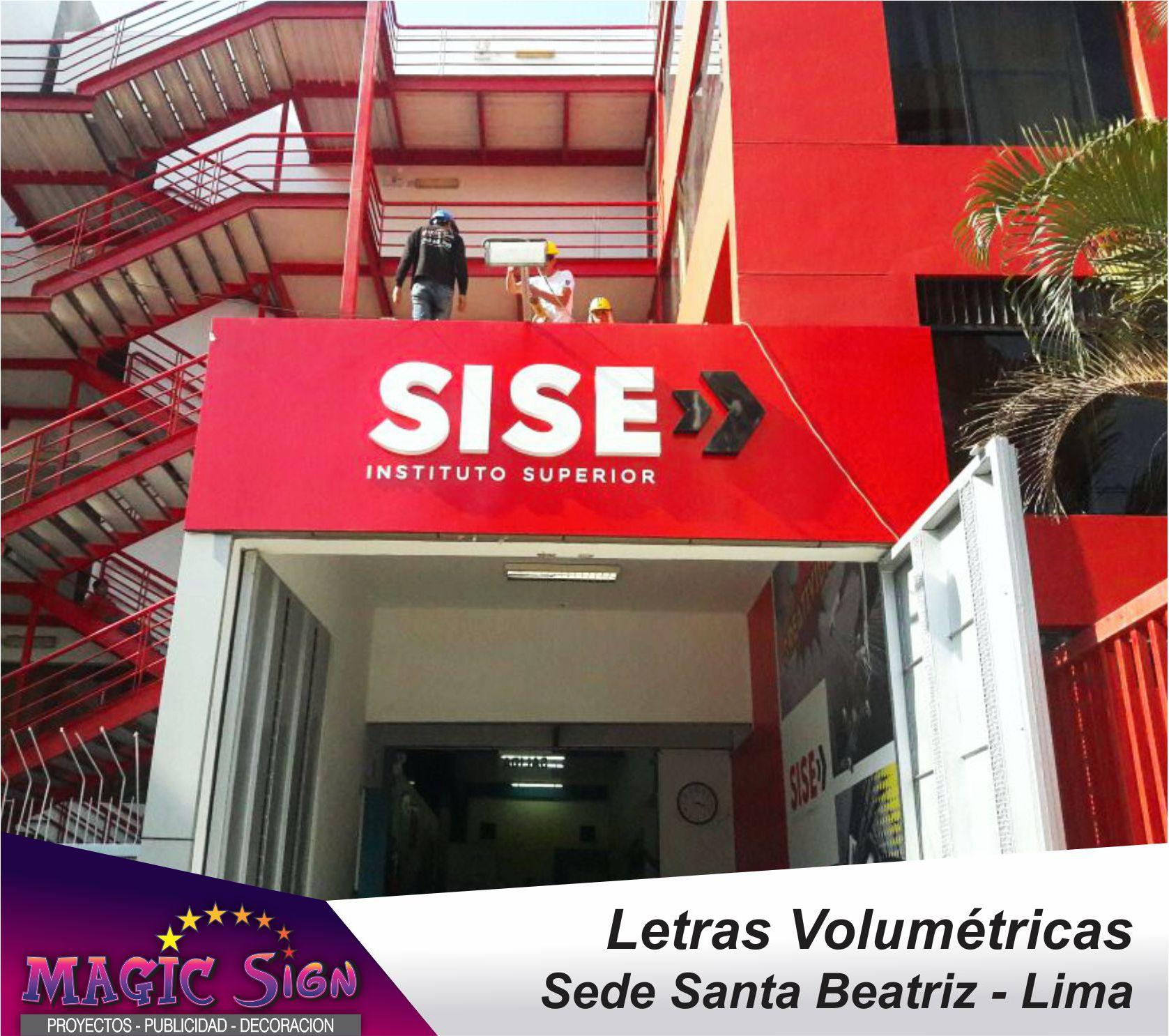 Letras Volumetricas Peru