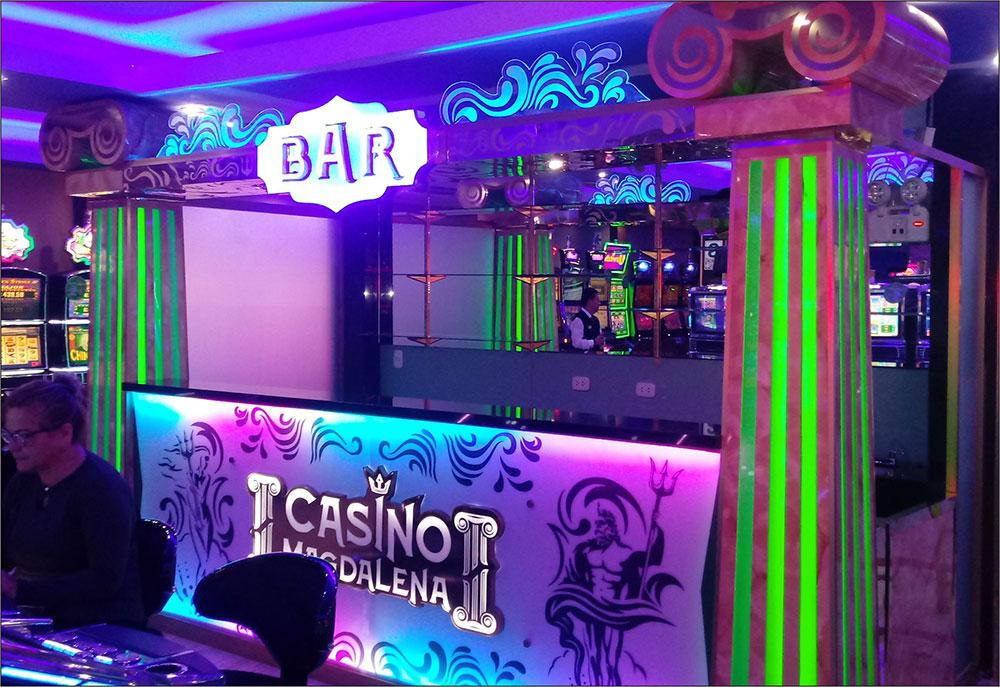 remodelacion de bar casino