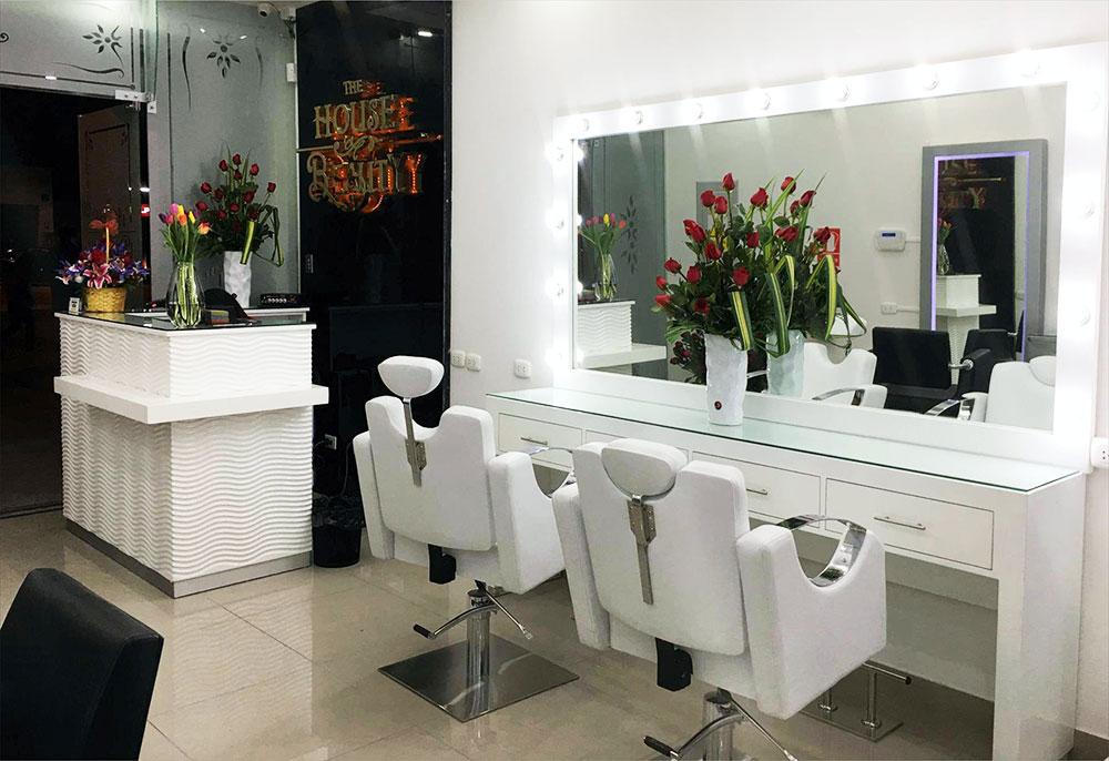 remodelacion de salon estetica